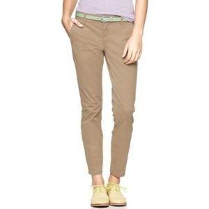 [GAP] Skinny Mini Khaki Ankle Fit Chinos